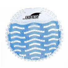 Urinal screen deodorizer ocean fragrance 10 pack anti-splash with odor  mat