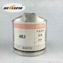 Pistón chino de Foton 483 con garantía de 1 año Buena venta buena calidad