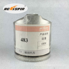 Chinese Foton486 Piston with 1 Year Warranty Hot Sale Good Quality