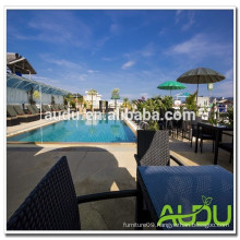 Audu Thailand Sunny Hotel Project Rattan Swimming Pool Chair