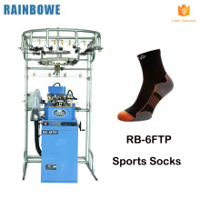Automatic computer lonati terry sock knitting machine spare parts to make sports socks for sale