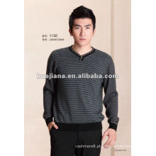 2017 moda salsicha tricô camisola masculina