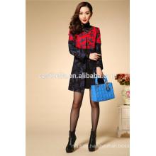Frauen-gestickter Mantel, Damen-Stickerei-Mantel, Qualitäts-Winter-Mäntel für Frauen