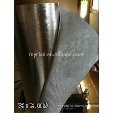 Lámina de aluminio Laminación de tela de vidrio / Para envoltura de conducto, junta de conductos y aislamiento de tuberías
