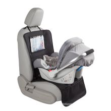 High Quality Costom PVC Pad Window Multi Function Storage Pocket  Car Seat Protector Mat