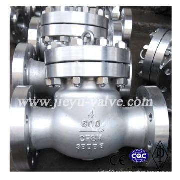 Фланцевый обратный клапан из нержавеющей стали CF8m / 316