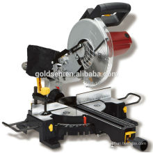 1900w Power Wood Cutting Machine Portable Electric 255mm Sliding Miter Saw