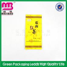 rectangle transparent brazilian coffee packaging bag