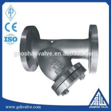 Filtre en acier inoxydable 304 / cf8 à bride