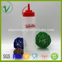 Мягкая сжимающая LDPE 700 мл длинная тонкая пластиковая бутылка-капельница с сырьем