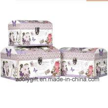 Custom High Quality Printing Paper Gift Keepsake Boxes