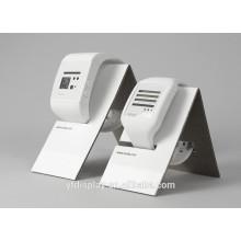 Weißer Acryluhr-Anzeigen-Halter
