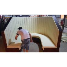 High Back U Shape Booth for Restaurant (FOH-RRB1)