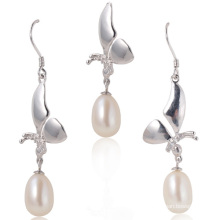 Silver with Freshwater Pearl, Pearl Set
