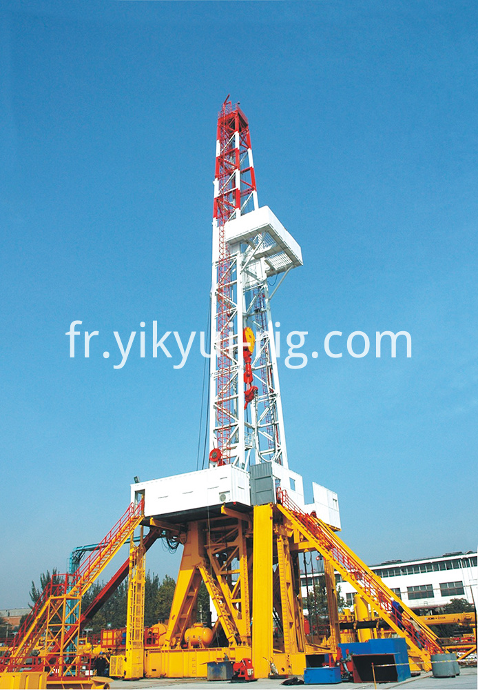 Skid Mounted Drilling Rig 1