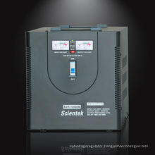 2015 Scientek Factory design 10000va 6000w Voltage Regulator made in China