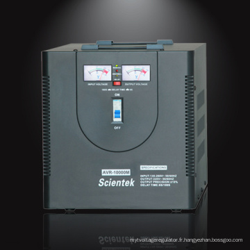 Desktop signle phase Sortie 220V 8% 500va to 10000va AVR