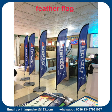 Iklan Custom Flags Wind Feather Flags