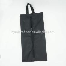 Polyester waterproof household shoe package zipper bag