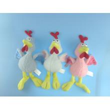 Cute Children Toy Plush Chicken with Squeaker
