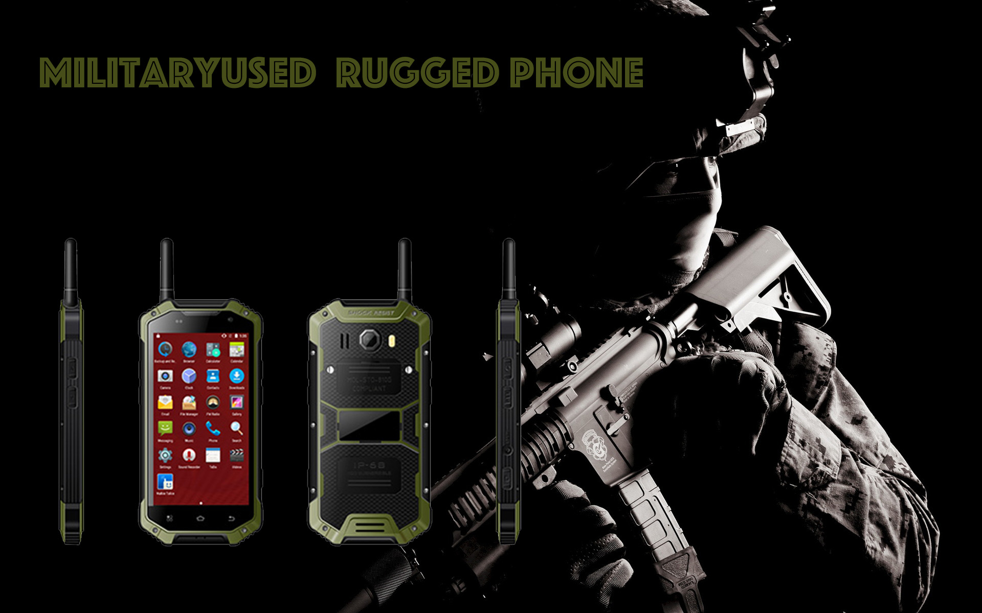 Military Rugged Phone