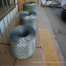 Maille de travail en acier galvanisé