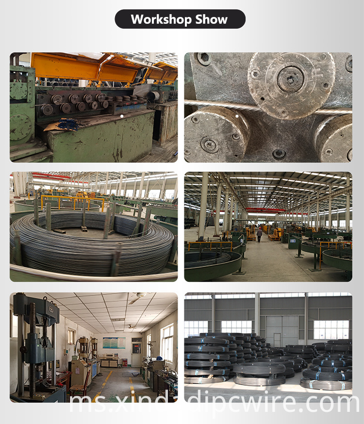 6.0mm spiral PC Wire production line