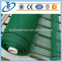 Filets perforés à vent ou à poussière, clôture anti-vent, usine de panneaux de rupture de vent