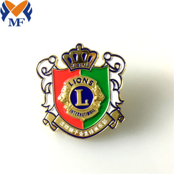 Logo Custom Enamel Soft Enamel Metal Badge