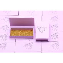 B137 Hitomi eyelash vendor customized boxes wholesale false eyelashes  luxury Empty Custom Eyelash Packaging