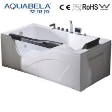White Acrylic Water Jet Bathtub for Massage (JL808)