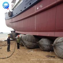 Embarcadero flotante inflable del salvamento del barco hecho en China