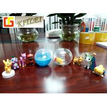 Heißer Verkauf Spielzeug Kunststoff Eierschale Spielzeug Ei Kapsel Spielzeug
