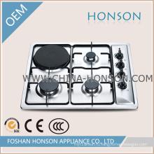 Хорошее качество 4 горелки газовой плитой с электрической плитой