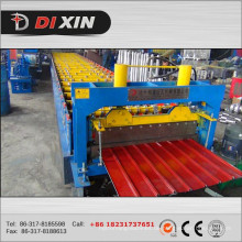 Automatische farbige Stahlüberdachungs-Blatt-Rolle, die Maschine für Verkauf bildet