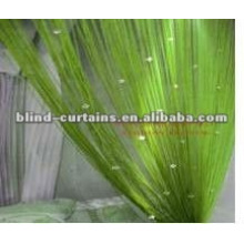 Solid color decorative beads string curtain