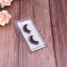 Vison sintético Lashes 3d Silk Lashes Mascara
