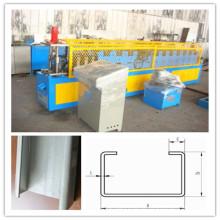 Automatische Änderung Größe C Purlin Rolled Forming Machine