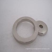 Ímãs permanentes do neodímio do anel para o motor deslizante (N35-N52)