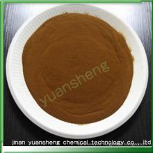 Lignosulfonato sódico como mezcla de hormigón