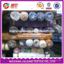 Dyed polyester and cotton fabric stock for bedsheet