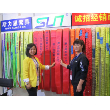 1t-1000t Round Sling 100% Polyester Lifting Belt