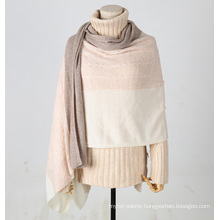 PK18ST083 Long size and cotton cashmere scarf luxury gift