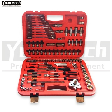 Kit d'outils de mécanicien 121 pièces