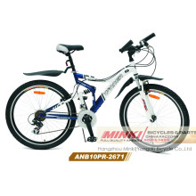 Bicicleta de montaña doble de Suspensoion (ANB10PR-2671)