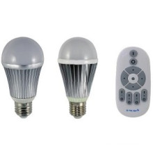 Température de couleur de la télécommande RF et intensité de la lumière vers le bas