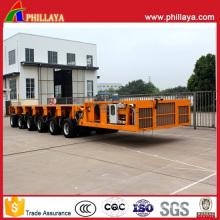6 Modules 150 Tons Hydraulic Self Propelled Modular Trailer