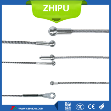 Dia4.5 Tungsten wire rope for vacuum furnace