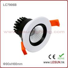 Вырезать отверстие 75мм 6 Вт cob Встраиваемые потолочные downlight LC7906b