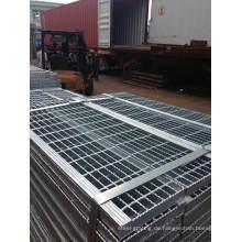 Verzinken Stahl Treppe Stufen für Stehleitern